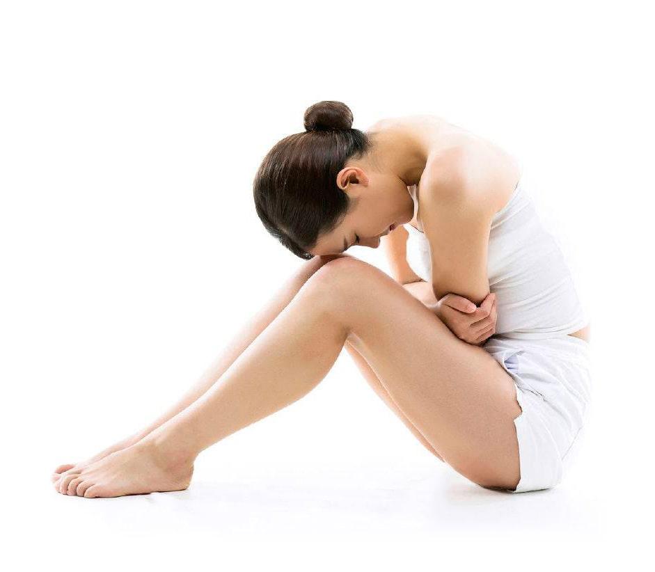 Bild von einer Frau mit Schmerzen